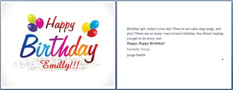 free s day cards word template free birthday cards templates for word invitation template