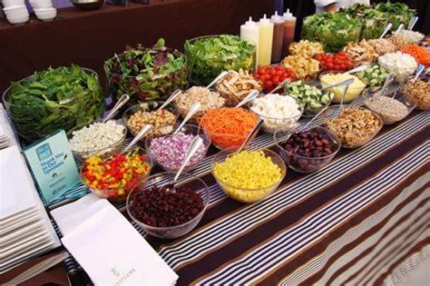 is it weird i want a salad bar at my wedding wedding