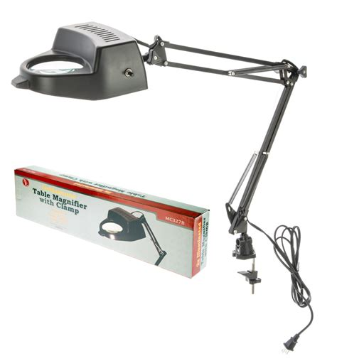 swing arm magnifier swing arm magnifying l with cl 4 quot dia 2 x