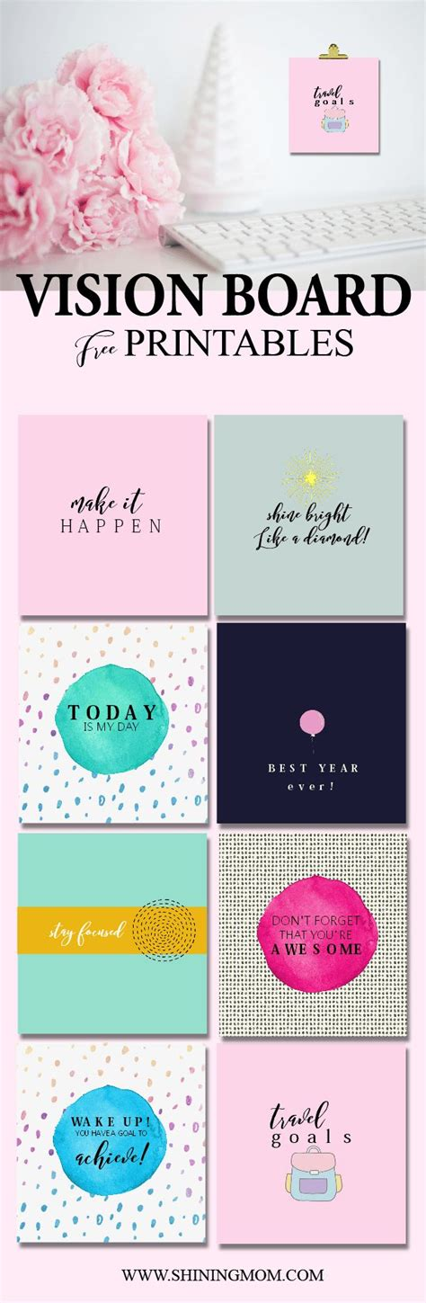 free vision board template 90 best images about free printable 2017 calendars by
