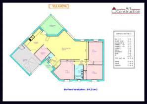 plan plain pied 2 chambres avec garage