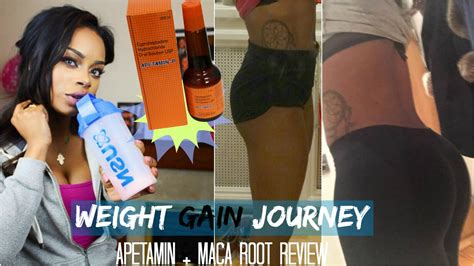 Appeton Lose Weight weight gain journey apetamin maca root review