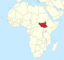 Sudan World Map by Sudan In World Map