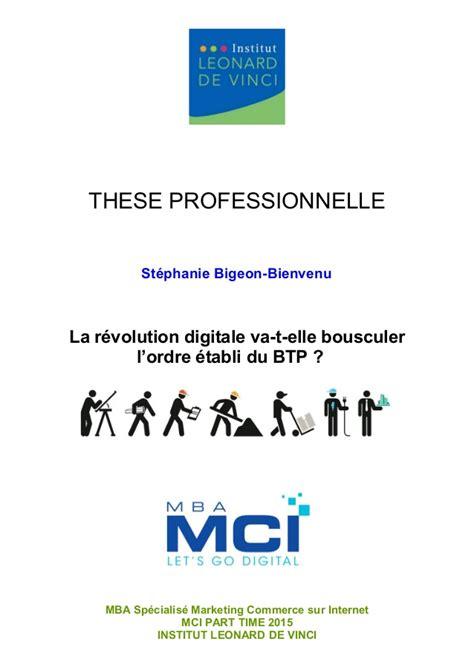 Mba Marketing Programs Virginia by Th 232 Se La R 233 Volution Digitale Va T Bousculer L Ordre