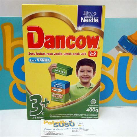 Lactogrow 4 Vanila 750g dancow 3 vanila 400g pabrik detil toko