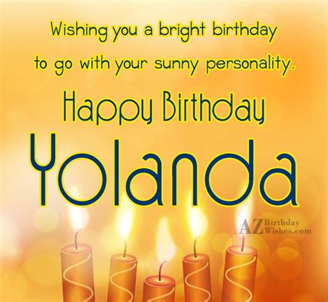 yolanda birthday happy birthday yolanda