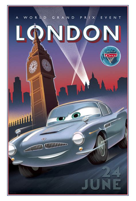 Cars Poster awesome new cars 2 vintage posters heyuguys