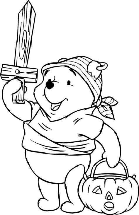 halloween coloring pages winnie the pooh free printable winnie the pooh coloring pages for kids