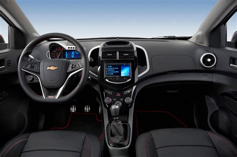 Chevy Interior by 2015 Chevrolet Sonic Hatchback Drive Review