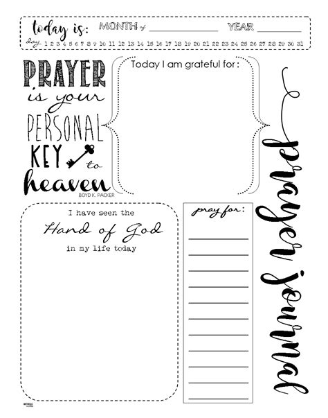 writing a prayer template start a prayer journal for more meaningful prayers free printables