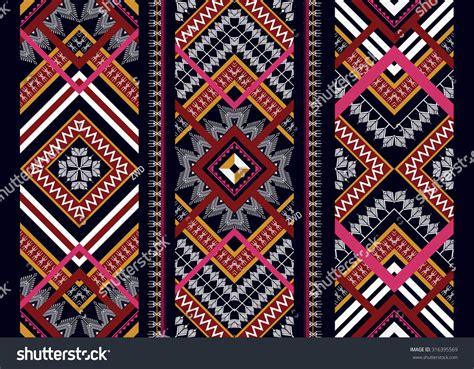 wallpaper ethnic design geometric ethnic pattern seamless design background stock