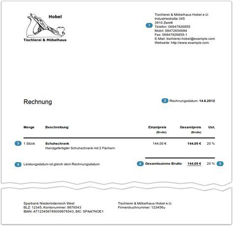 Musterrechnung Privatperson An Firma Rechnungen Schreiben Leicht Gemacht