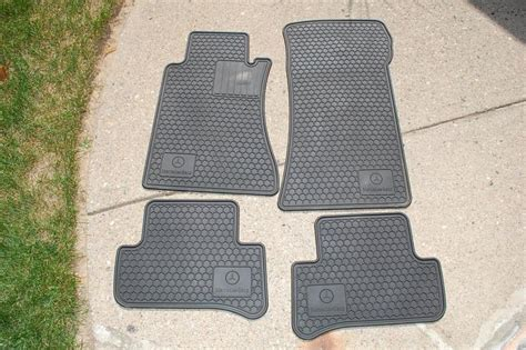 Mercedes Mats by W203 Genuine Mercedes Rubber Floor Mats Mbworld Org Forums
