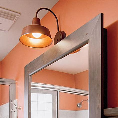 Barn Light Bathroom Barn Wall Sconces Are Perfect For Use In Small Spaces