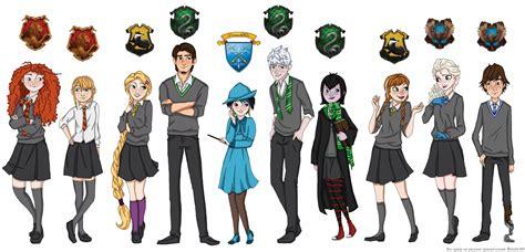 4 hogwarts houses houses of hogwarts the big four pinterest