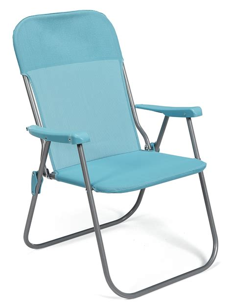 foldable chair kmart bbq pro folding chair blue outdoor living patio