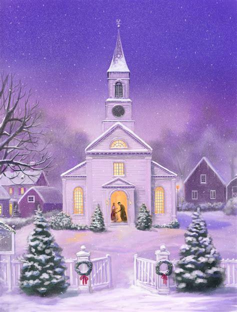 american church christmas scene by dashinvaine on deviantart