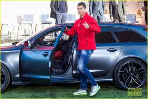 audi to cristiano ronaldo here s your new car photo