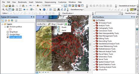 imagenes satelitales raster sincronizar arcgis con google earth el blog de franz