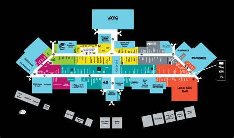 mall map for grapevine mills 174 a simon mall located at