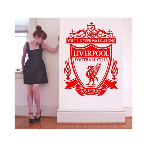 Wall Sticker Liverpool 3 liverpool fc bedroom ideas and themed accessories sniff it out