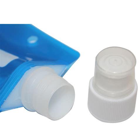Tas Botol Minum Mini Bottle Pouch foldable water bottle botol air minum lipat white jakartanotebook