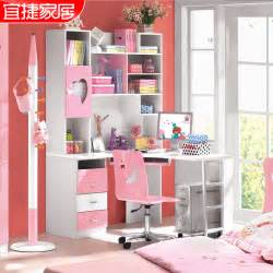 Pink Corner Computer Desk Shop Popular Pink Corner Desk From China Aliexpress