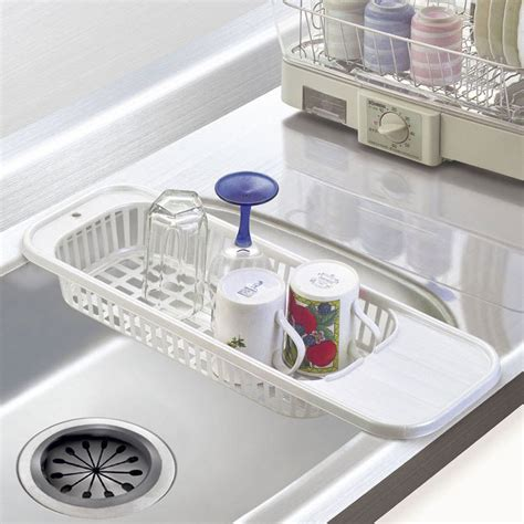 kitchen sink drain rack cutlery shelving treatment of