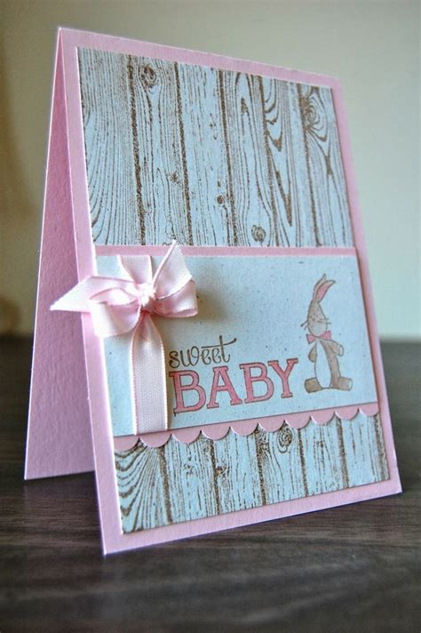 Baby Handmade Cards - julie s japes a top independent stin up