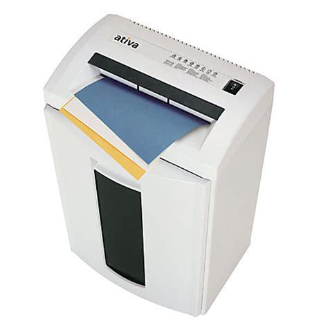 Office Depot Coupons Shredder Ativa V141s 24 Sheet Cut Shredder By Office Depot