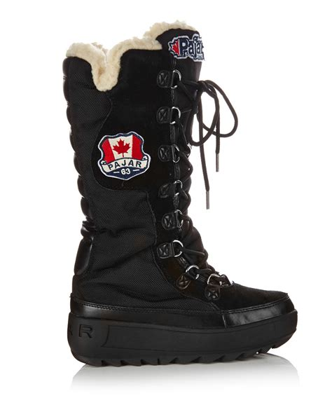 snow boot sale s greenland black snow boots sale pajar