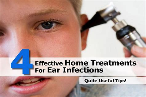4 effective home treatments for ear infections