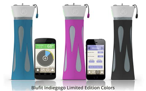 Tried Smart Water by Blufit Bottle Indiegogo