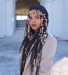beaded braid hairstyles 30 box braids looking absolutely stunning