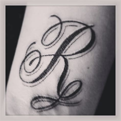 initial wrist tattoo tattoos pinterest