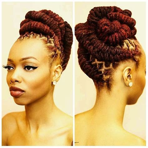 Loc Updo Hairstyles by 4986 Best Locs Of Images On Updo
