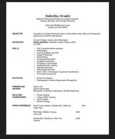 Assistant Student Resume by Dental Assistant Duties For Resume Exle 5