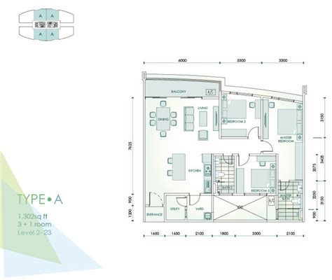 serin residency floor plan meze