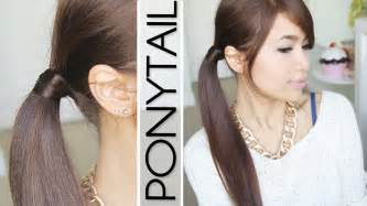 find a hairstyle using your own picture hair wrapped ponytail no bobby pins hairstyle hair