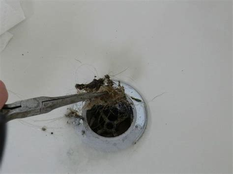 how to clean a clogged bathtub drain hometalk tutorial on cleaning your bathtub drain