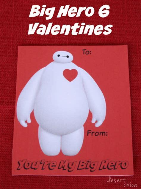 big valentines printable baymax valentines desert chica