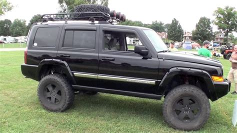 jeep commander lifted jeep commander xk on big lift and 35 inch tires on vimeo