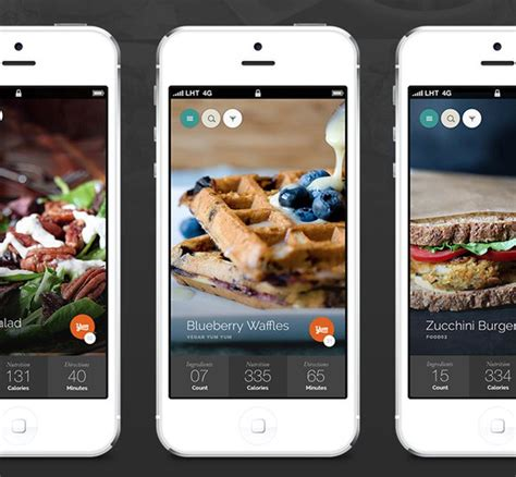 food mobile 30 tasty food mobile app designs for foodies