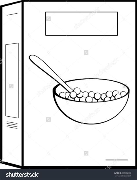 cereal boxes clipart 53