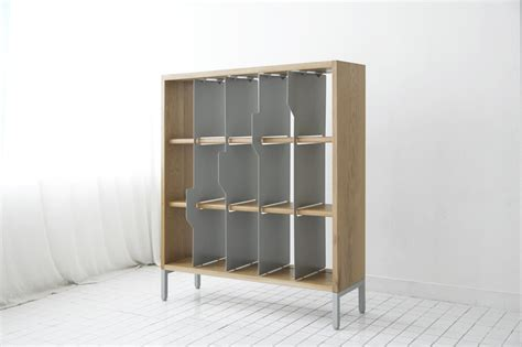 sliding bookshelves new sliding bookcase from studio ej mojo direct