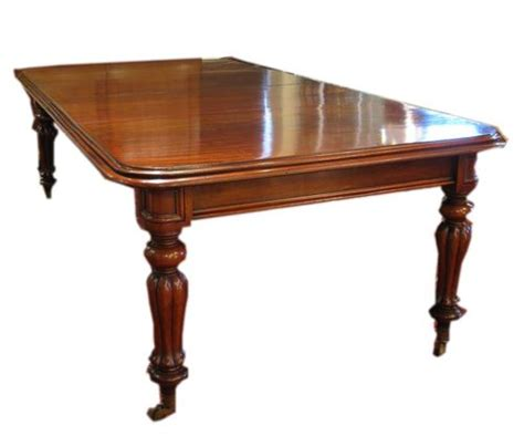 Dining Table: Antique Dining Table Mahogany