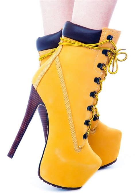 high heels timberlands timber gi jo platform boots timberland heel boots and