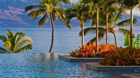 seasons wailea maui hawaii desktop background