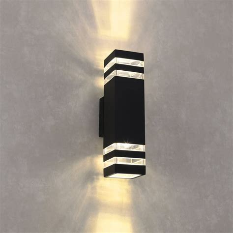 contemporary outdoor led wall lights modern led outdoor wall lights