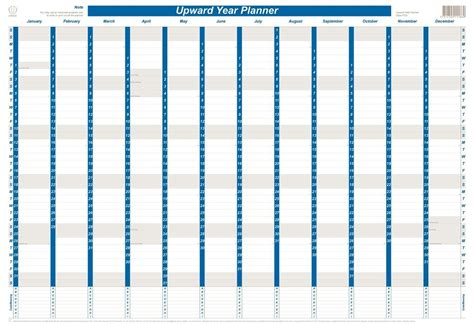 free printable wall planner 2015 nz planner 2019 upward wall 4700 year 690 x 470mm laminated flat